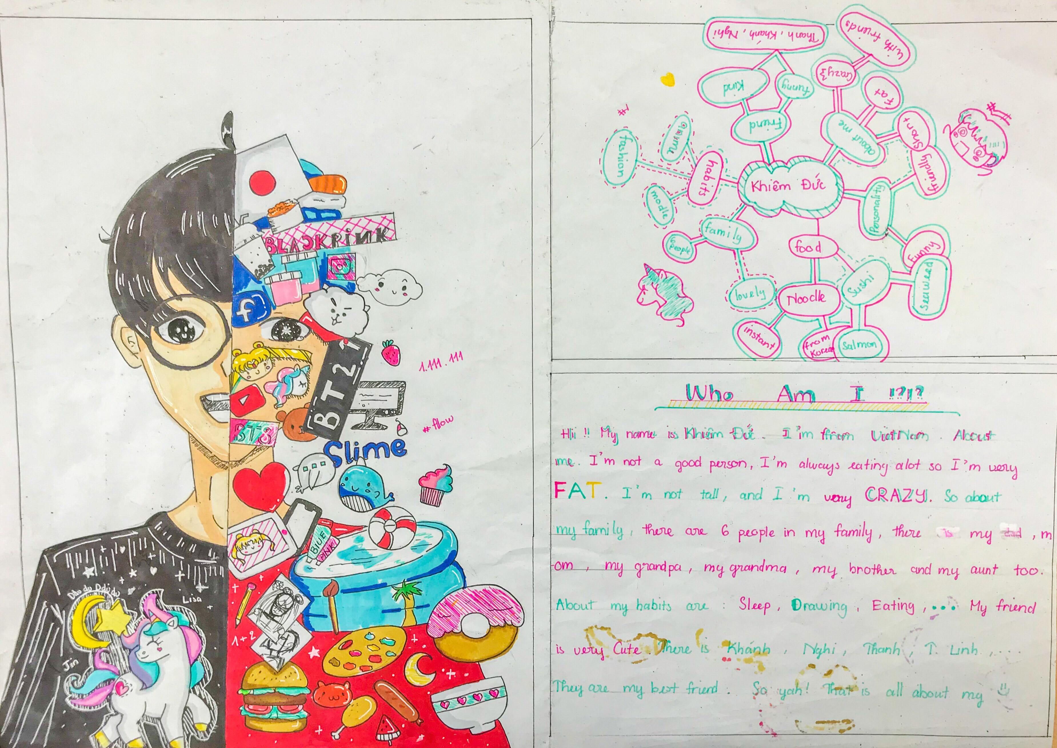 Self Portrait Ideas For Esl Students With Images