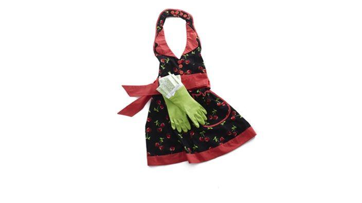 apron & gloves