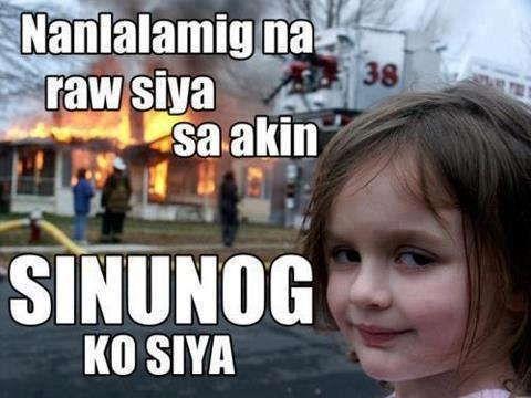 Funny Tagalog Meme Jokes : Nanlalamig pala ha tristancafe tagalog qoutes pinterest