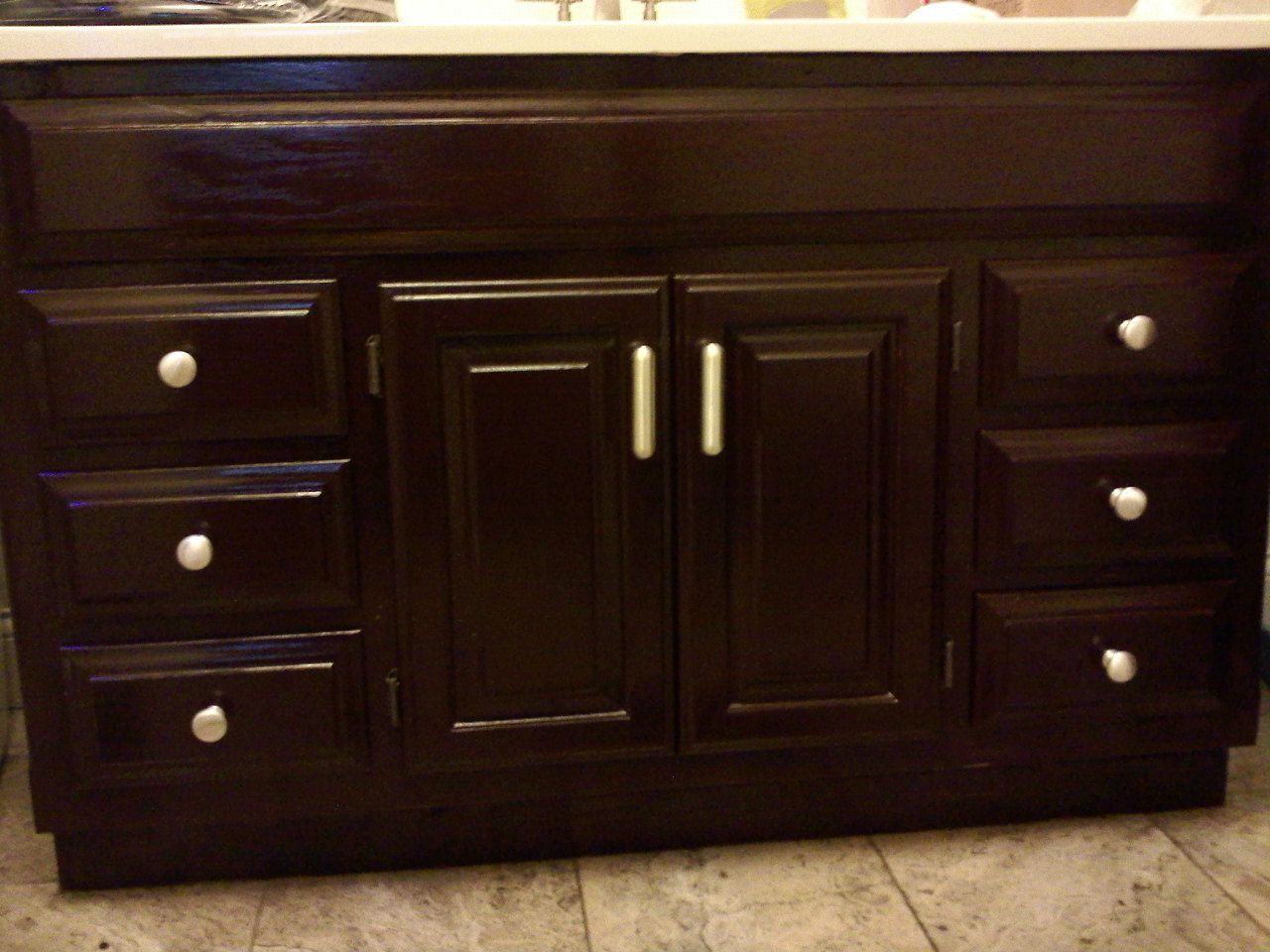 Georgian Cherry Gel Stain Staining Cabinets Home