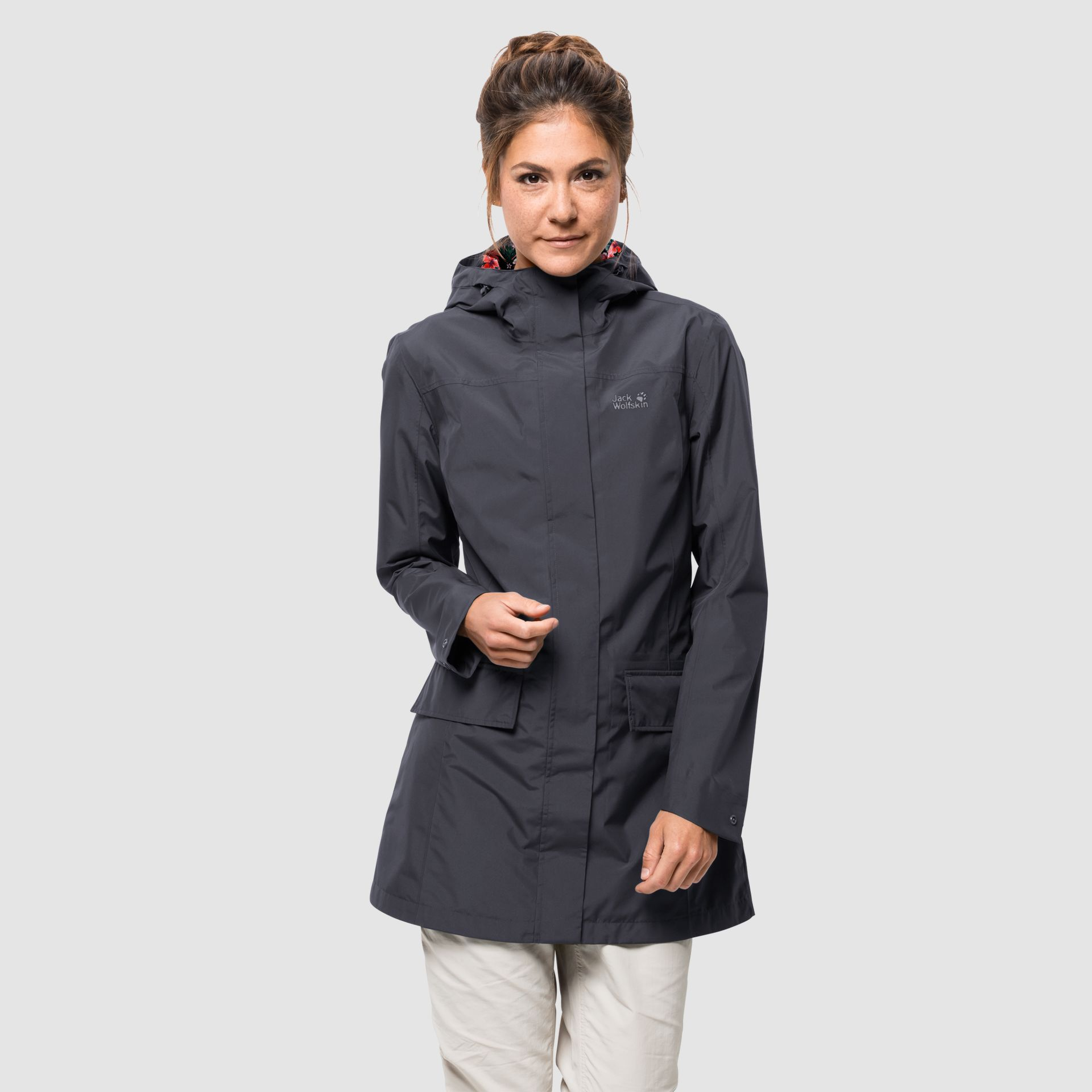 Damen Hardshell Mantel Cape York Coat W