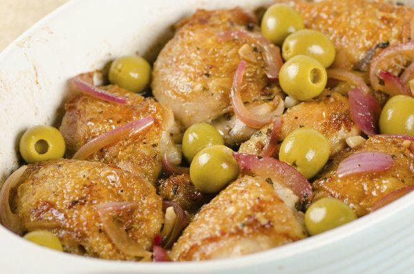 Pollo Con Aceitunas Receta Recetas Con Aceitunas Kiwilimon Recetas Comida Comida Mediterránea