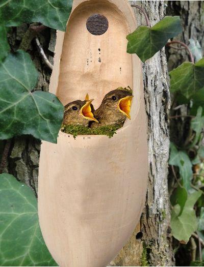 des id es de d coration du jardin bio avec de la r cup 39 natures beauty pinterest birdhouse. Black Bedroom Furniture Sets. Home Design Ideas