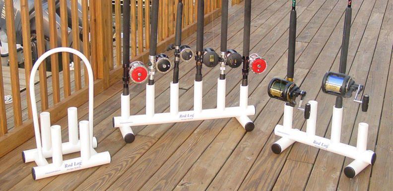 Fishing pole storage plans rod log rod racks for fishing for Fishing rod storage