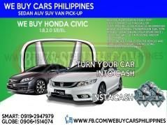 WE BUY USED HONDA CIVIC CAR. TOP PRICE FAST CASH NOW NA