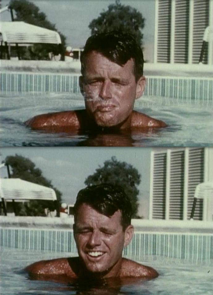 Pool fun with Bobby Kennedy