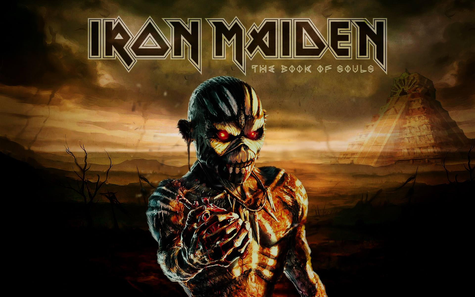 The Book Of Souls Iron Maiden Iron Maiden Eddie Evil Pictures