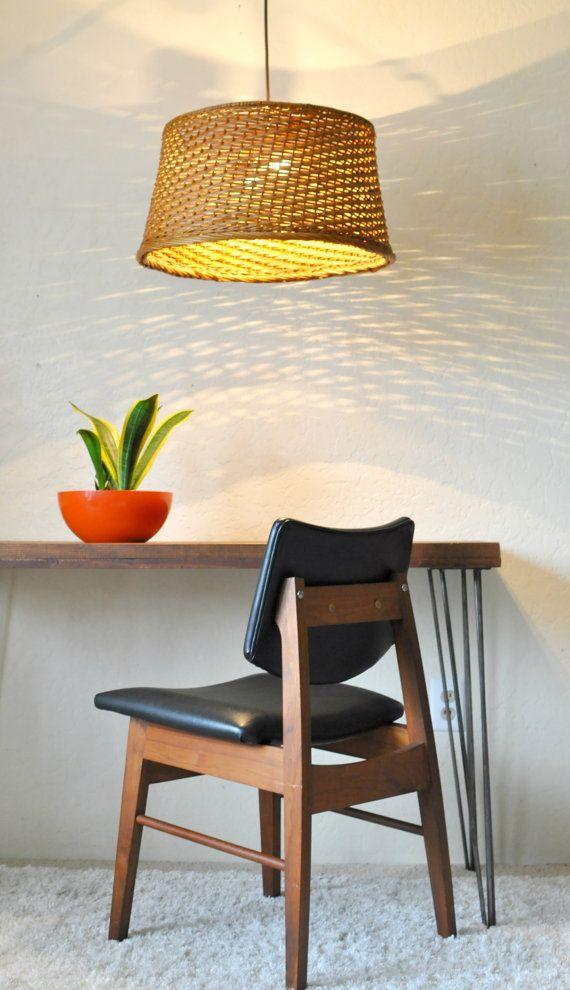 Large 60 Wicker Pendant Light Woven Basket Pendant Lamp Round Wicker Weave Dining Room C Pendant Lighting Dining Room Dining Room Pendant Wicker Pendant Light
