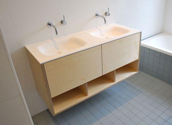 Berken Multiplex Badkamer : Afbeeldingsresultaat voor gelakt berken multiplex badkamer in