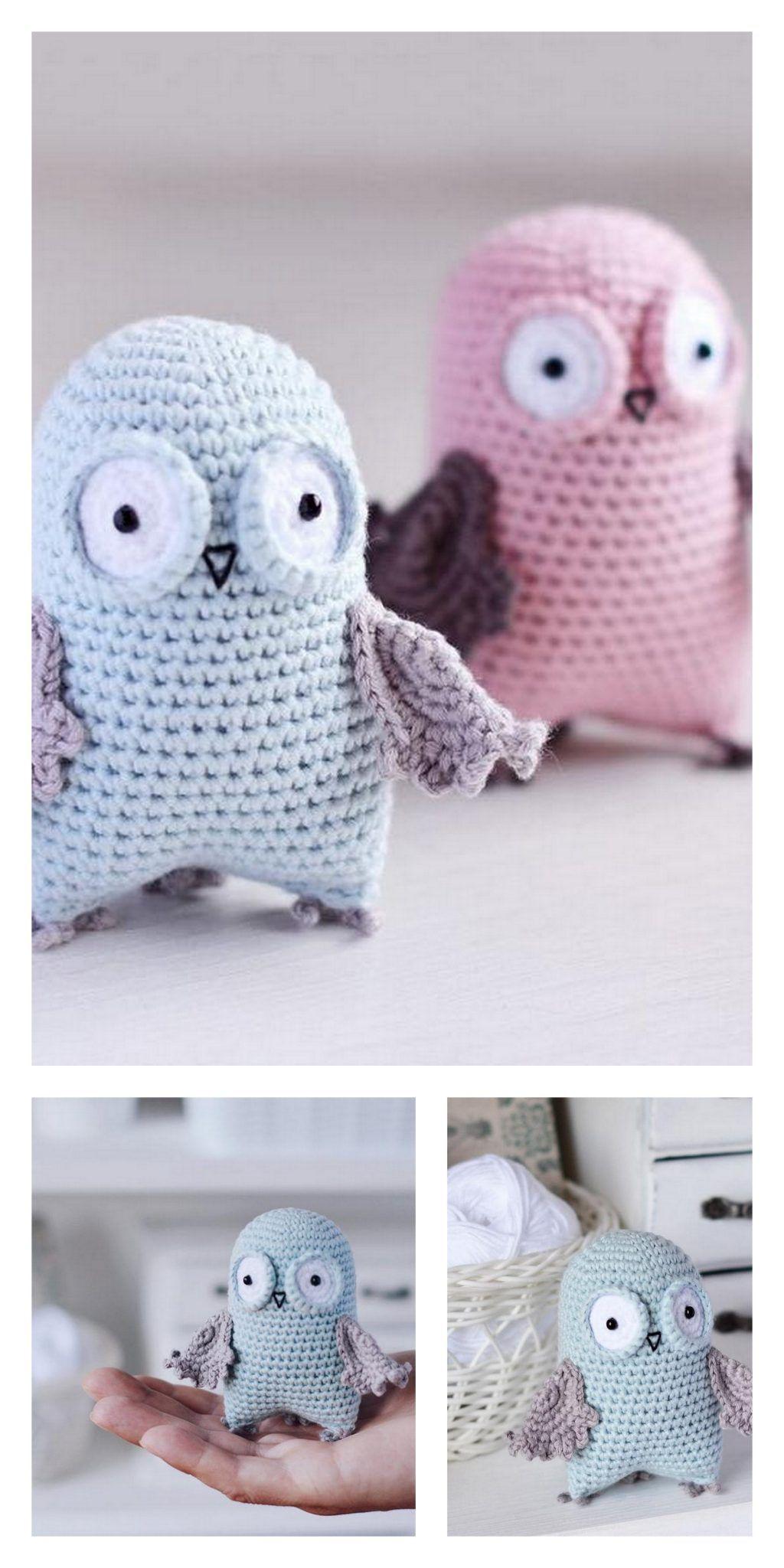 Crochet Owl Amigurumi Mr. Murasaki/ Sleepy Owl/ Baby Owl/ | Etsy | 2048x1024