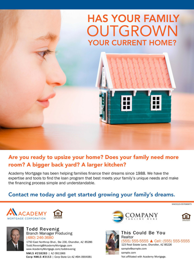 Has Your Family Outgrown Your Current Home? Todd Revenig ...