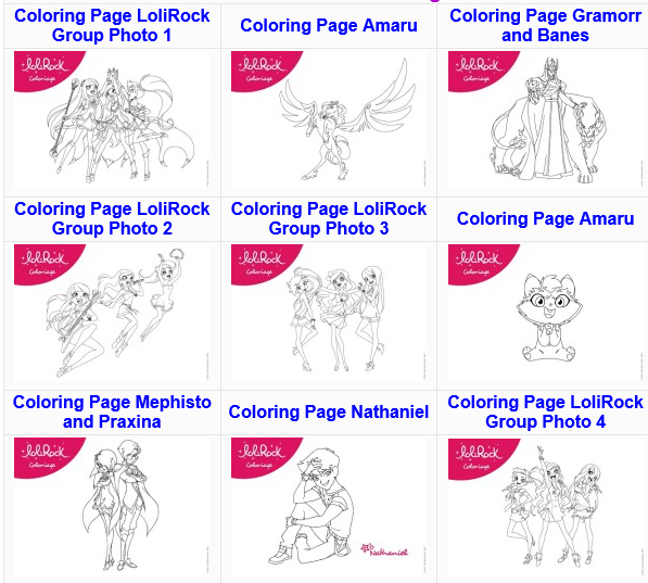 Http Skgaleana Com Free Lolirock Printables And Activities Les Lolirock S Amuser Decoration