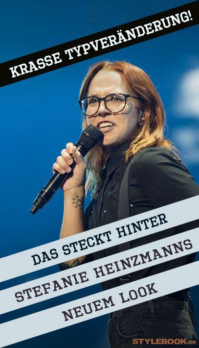Ihr Friseur Erklart Das Steckt Hinter Stefanie Heinzmanns Typveranderung Typveranderung Friseur Stefanie Heinzmann