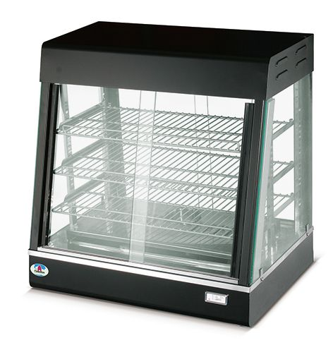 Commercial Countertop Food Warmer Heating Unit Display Cabinet