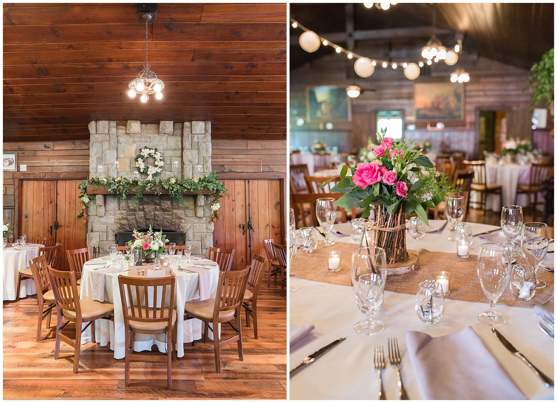 Spring Wedding Reception At Buffalo Trace Distillery In Frankfort