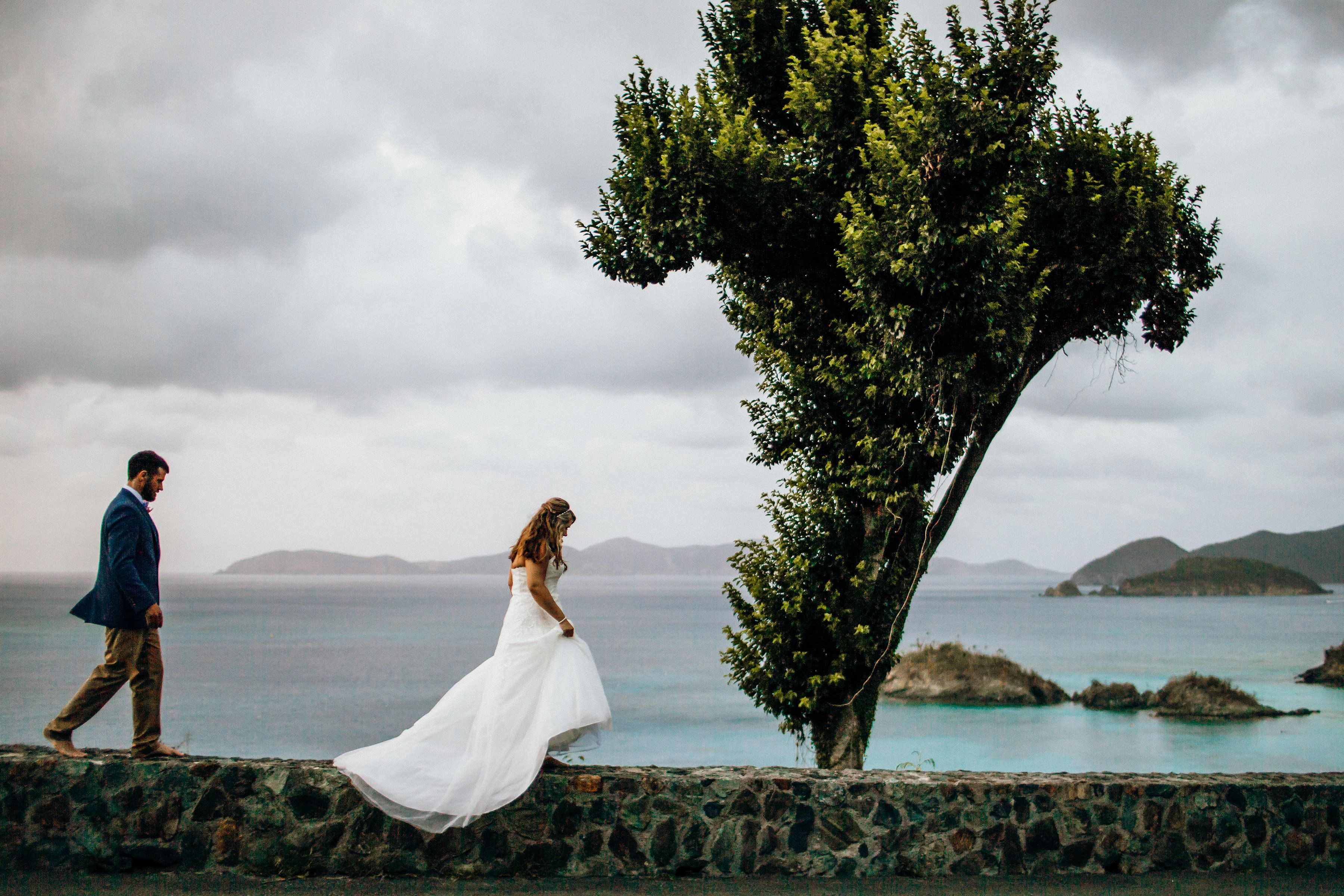 Amber Adam S Darling Beach Wedding In St John Usvi Is On Destination Network Adriana Weddings Now Check Out This