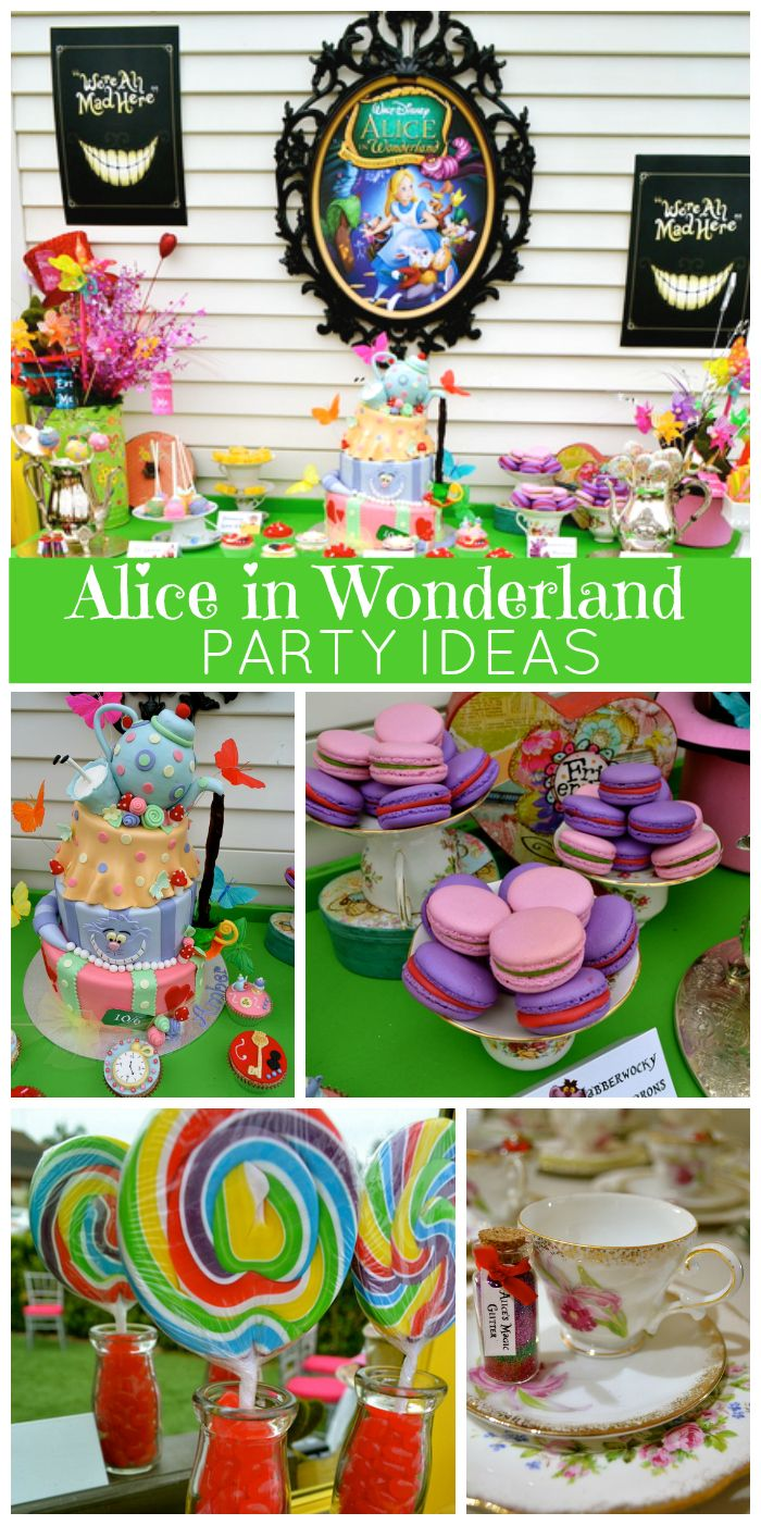 Alice In Wonderland Mad Hatter Birthday Mad Hatter Tea Party