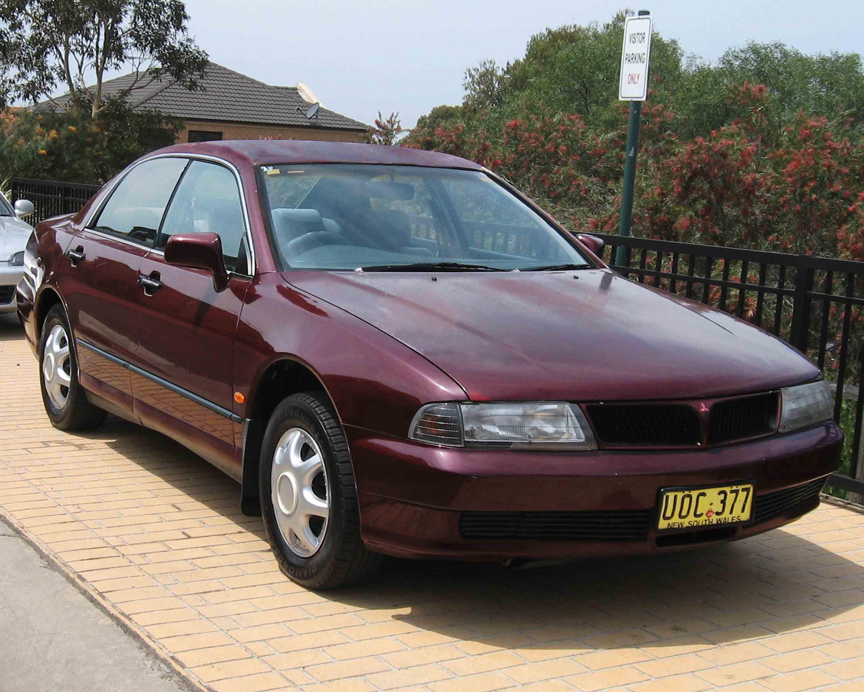 1998 Mitsubishi Magna Sedan Australia Sales Brochure