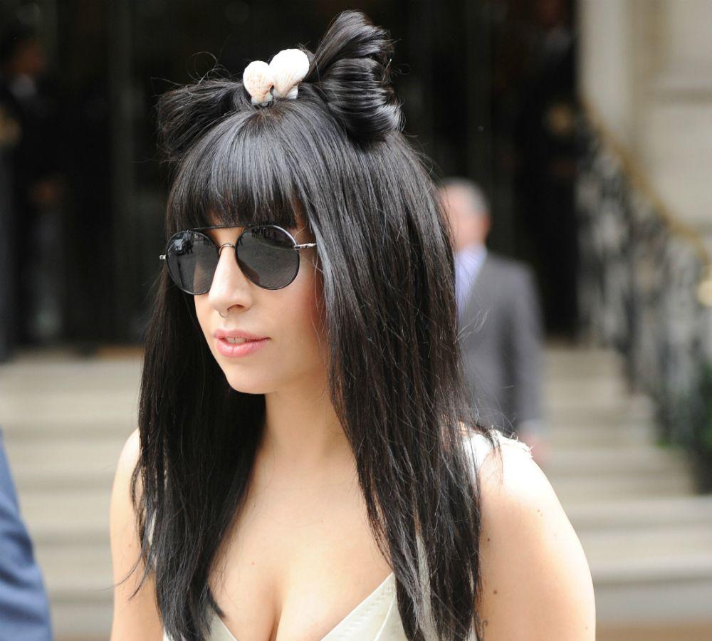 Lady Gaga 2013 Black Hair Curly Hair Styles Lady Gaga Hair