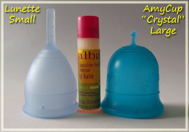 Lunette Small Vs Amycup Crystal Large Menstrualcup