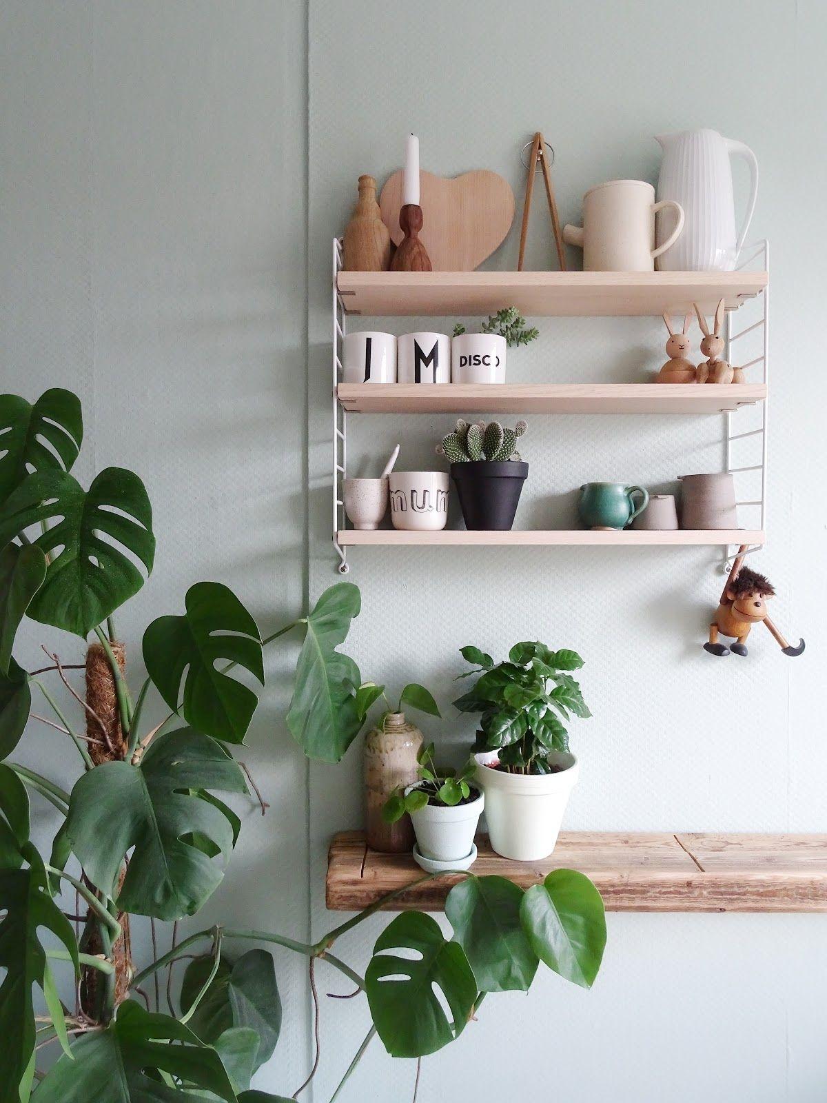 Küchen Makeover Mit Neuer Farbe Und Neuem, Altem Holz Für Frischen Wind An  Der Wand
