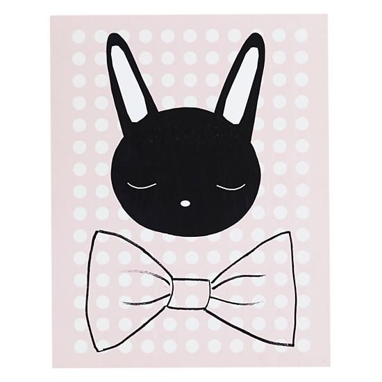 """Oh Bunny"" print at The Land of Nod by Ashley G"