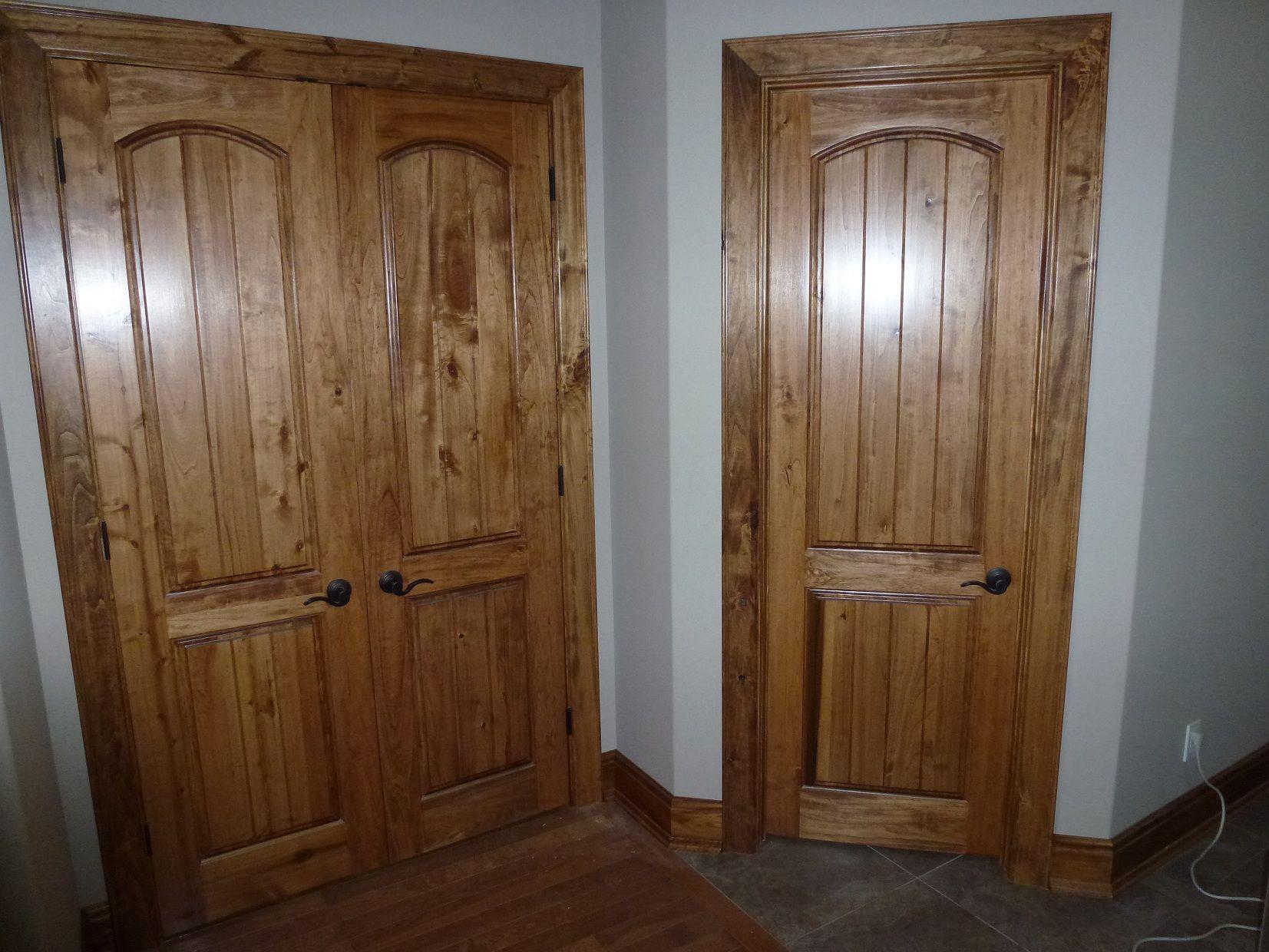 Nice rustic wood interior doors Innentüren, Eichentüren