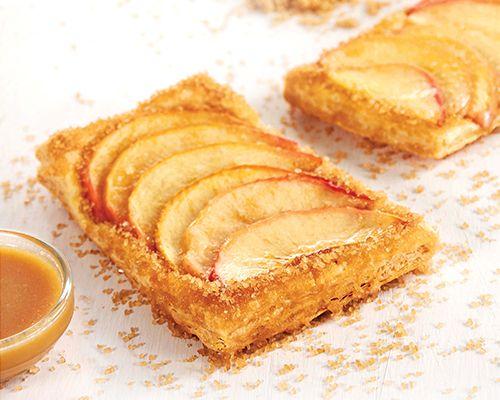 Brown Sugar Brandied Caramel Apple Tart | Domino Sugar