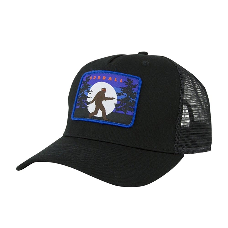 Bigfoot Trucker Hat - Black - CW186WNZ6AG - Hats   Caps 6e7f8d3f0e08