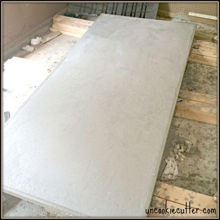 Concrete Dining Table Via