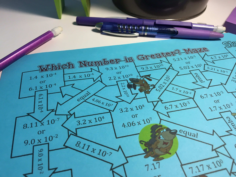 10 Activities To Make Practicing Scientific Notation