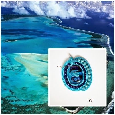 flov design: blue lagoon soutache