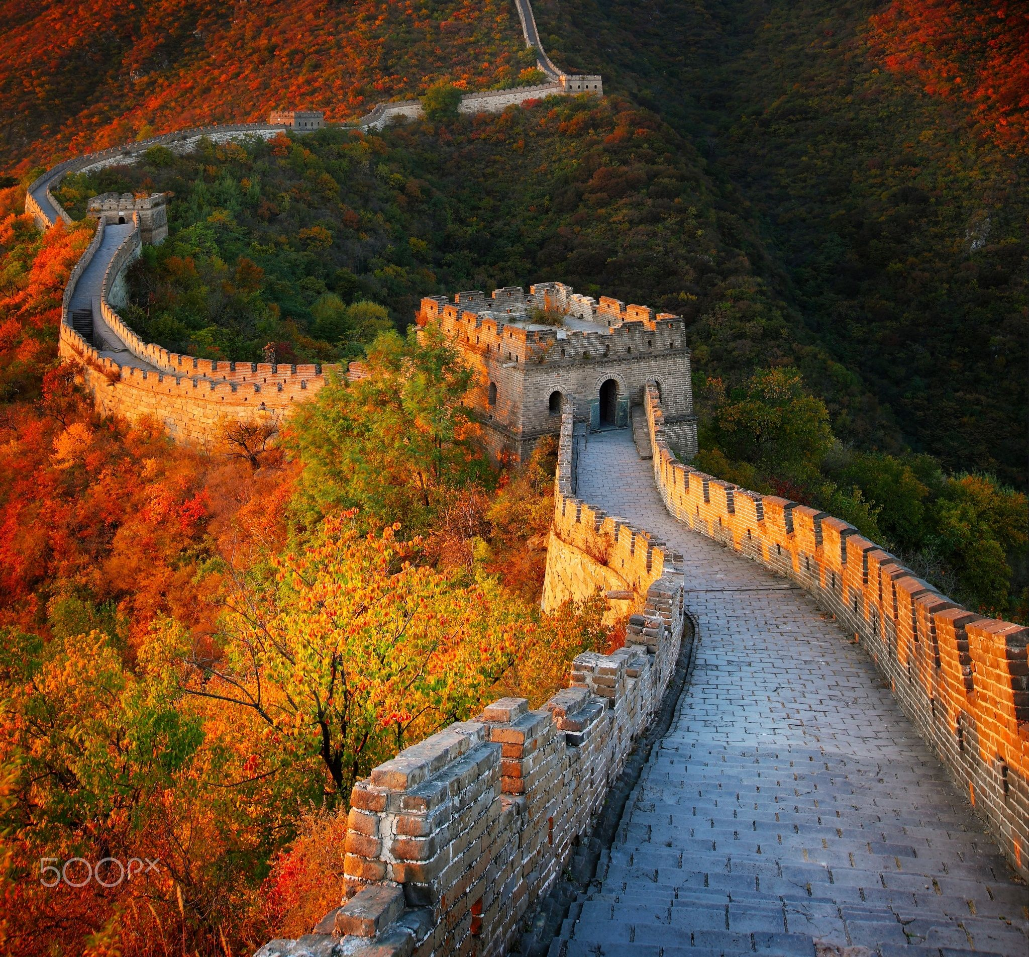 great wall of china great wall of china in autumn on great wall of china huanghuacheng id=80925