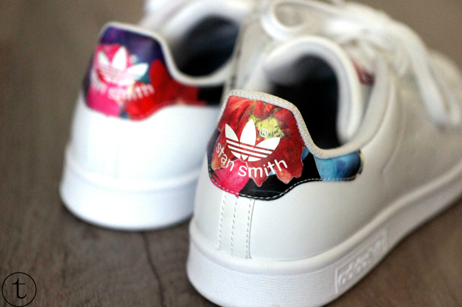 stan smith flowers