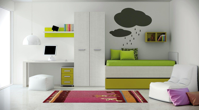 Habitaciones Para Ni Os Dormitorios Modernos Para Ni Os Fagor  # Venta Nocturna Muebles Placencia