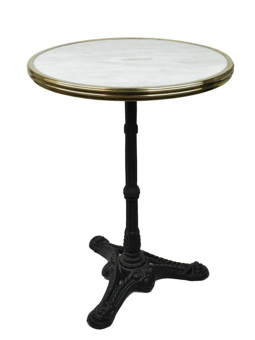 Originally Made Por During Paris Belle Époque Marble Bistro Tables Such As These Continue To Be Used In Restaurants And