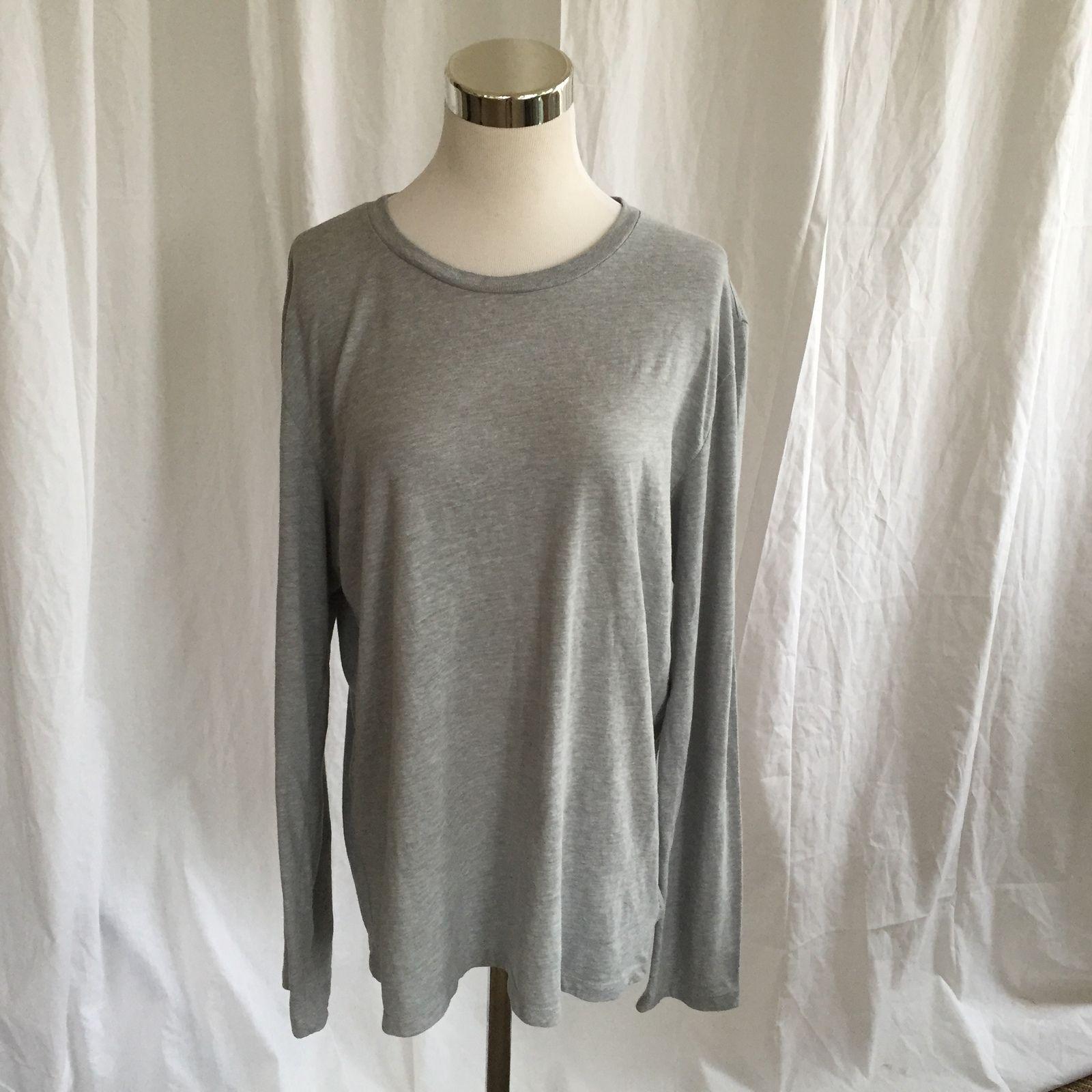 SALE! Ladies Sz L Gap 1969 Gray Long Sleeve Tee just $10.50