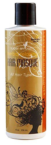 Herbal Relaxing Hair Masque and Conditioner with Argan Oil