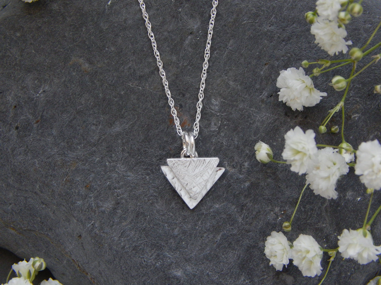 Compass necklace multi strand necklace three strand necklace gemstone jewelry labradorite necklace silver geometric pendant necklace