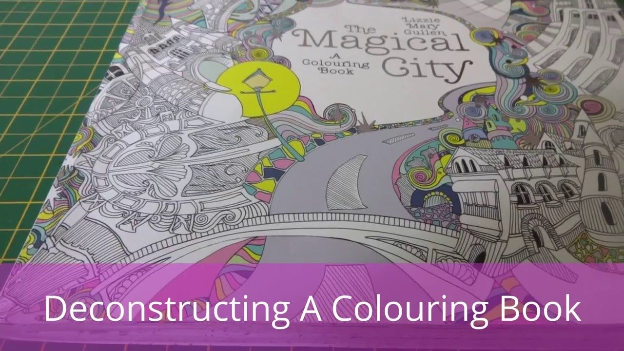 Deconstructing A Colouring Book Coloring Books Books Color