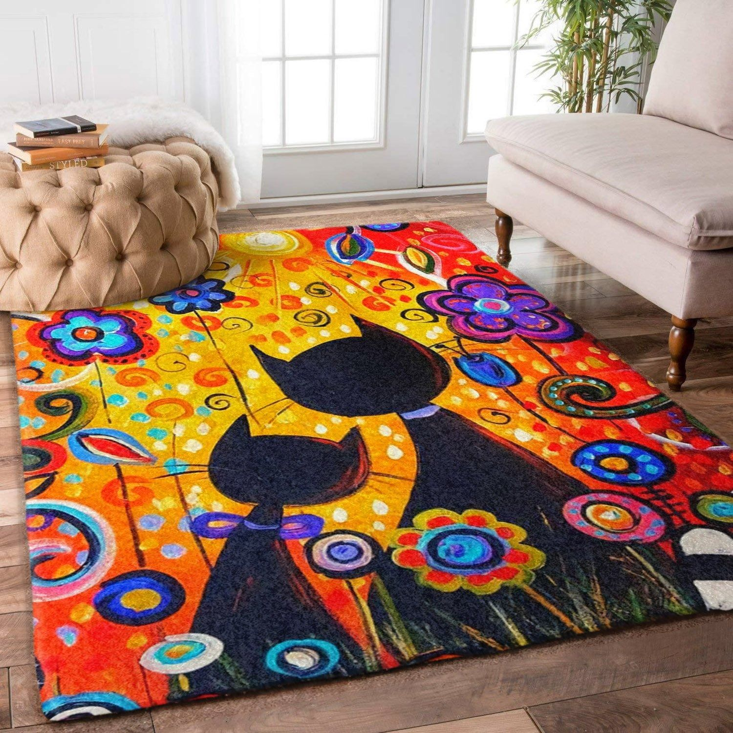 Cat couple 2 rug cameow in 2020 rugs cat related