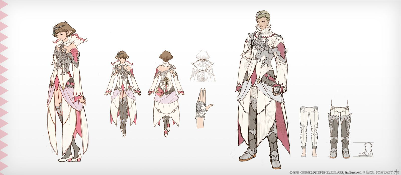 Final Fantasy XIV Stormblood Game Cinematic And Concept Art