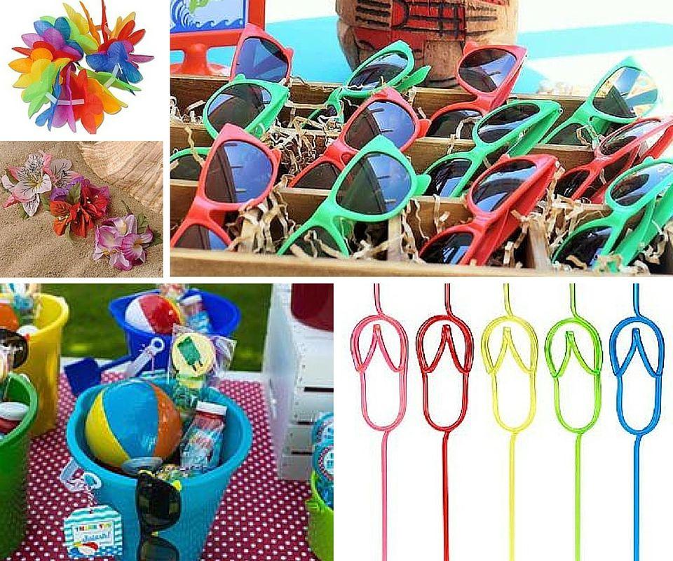 Hawaiian Theme Decoration Ideas Part - 32: Luau Party Favors Ideas