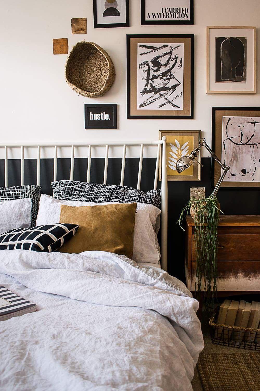 Modern Vintage Small Bedroom Makeover Modern Vintage Bedrooms Bedroom Vintage Small Bedroom Makeover