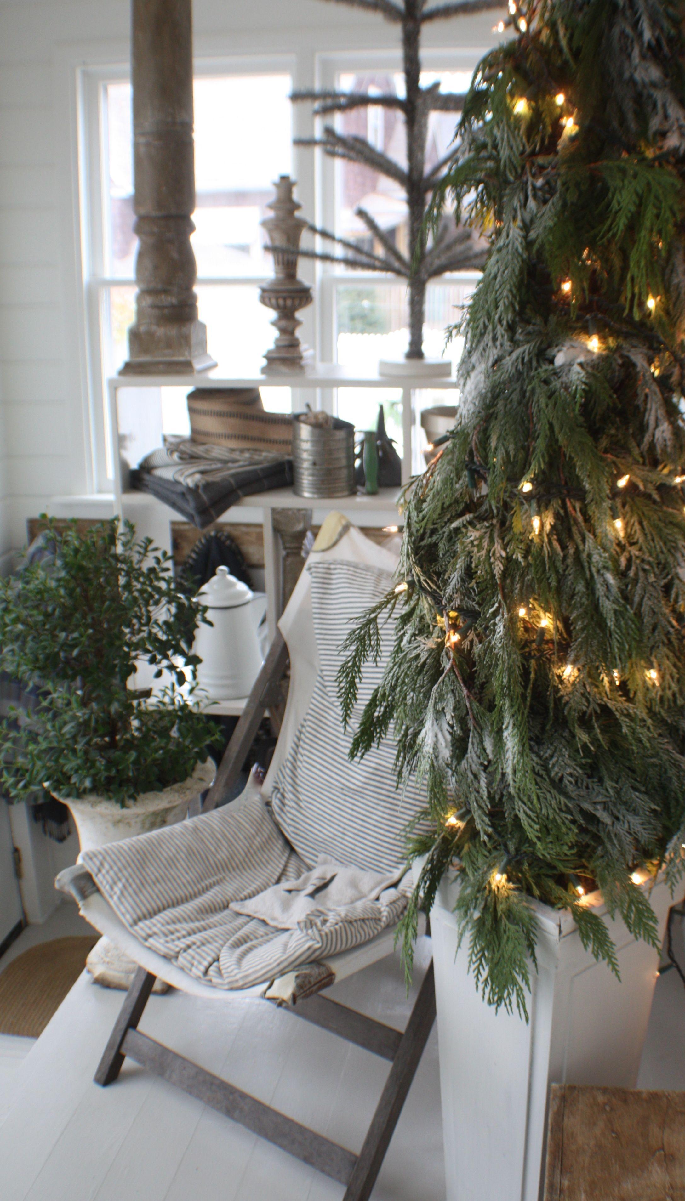Christmas at this old farmhouse www.savvycityfarmer