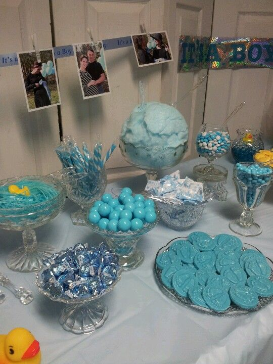 Baby Shower Candy Bar Love The Pics Above It... Maybe With Pink Clothes
