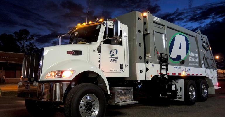 Advanced Disposal Truck Disposal Services Disposable Reduce Cost