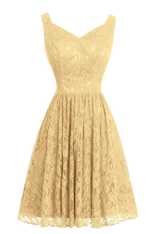 Dasior womenus short lace bridesmaid party dresses grey amazon
