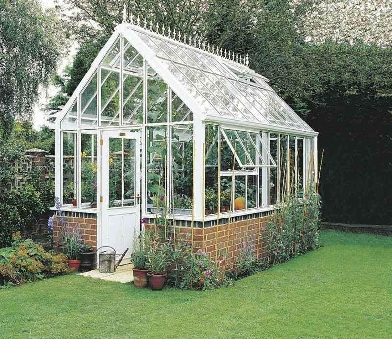 Gewächshaus Viktorianischer Stil gewächshaus selber bauen einfache anleitung und tipps