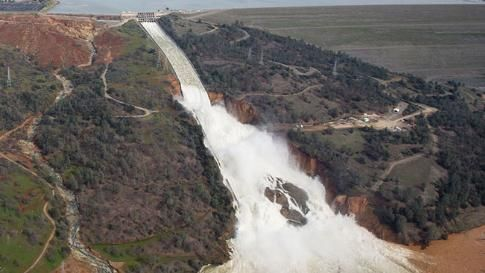 Oroville Dam Update: Water Levels Lower Despite Additional